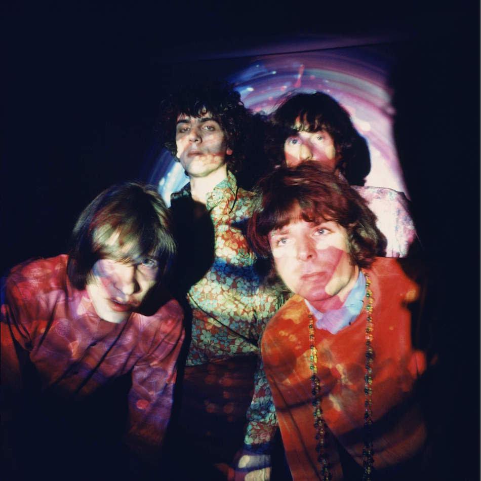 PinK Floyd. Da sinistra: Roger Waters, Syd Barrett, Nick Mason, Rick Wright. Foto di Andrew Whittuck/Redferns